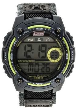 Coleman Men's Digital Sportwrap Watch - Gray/Lime