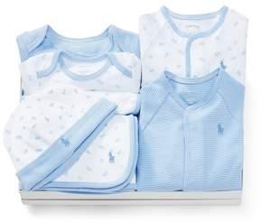 Ralph Lauren | Abc 7-Piece Gift Set | 6-12 months | Blue