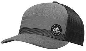adidas 3-Stripes Trucker Adjustable Snapback Cap MOISTURE WICKING