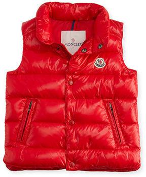 Moncler Bernard Puffer Vest, Size 12M-3