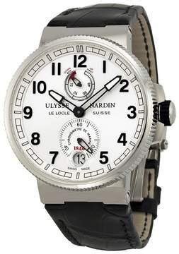 Ulysse Nardin Marine Chronometer White Dial Men's Watch