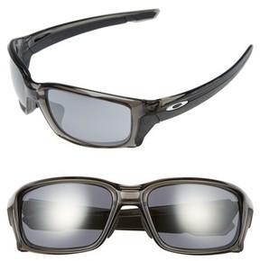 Oakley Men's Straightlink 61Mm Sunglasses - Grey