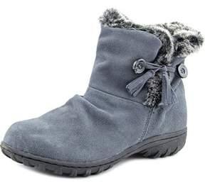 Khombu Isabella Women Round Toe Leather Gray Winter Boot.