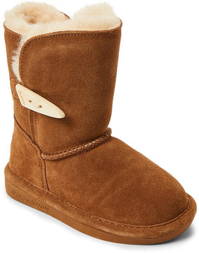 BearPaw Toddler Girls) Hickory Victorian Boots