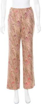 Christian Lacroix High-Rise Brocade Pants w/ Tags