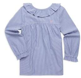 Vineyard Vines Toddler's, Little Girl's& Girl's Striped Cotton Top