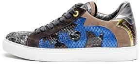 Zadig & Voltaire Zv1747 Nash Glitleo Leather Sneakers