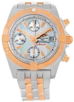 Breitling Chrono Galactic C13358 Stainless Steel/Rose Gold 39mm Unisex Watch