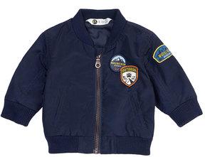 Petit Lem Boy's Zip-Up Woven Jacket, Size 3-24 Months