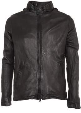Giorgio Brato Double Zip Leather Jacket