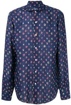 Barba floral printed blouse
