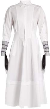 Amanda Wakeley Muse cotton-poplin shirtdress