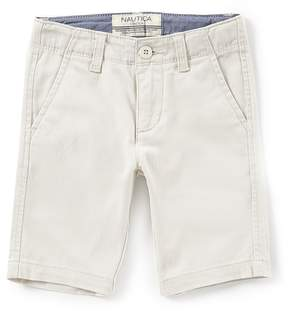Nautica Little Boys 4-7 Felton Flat Front Shorts