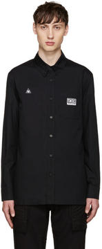 Kokon To Zai Black Patches Shirt