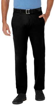 Haggar Men's Coastal Comfort Straight-Fit Stretch Flat-Front Chino Pants