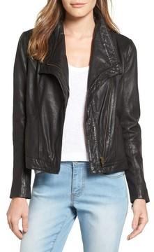 Caslon Women's Leather Jacket