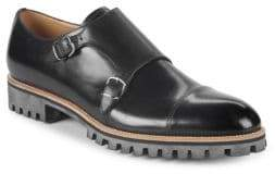 Bally Porthos Leather Double Monk-Strap
