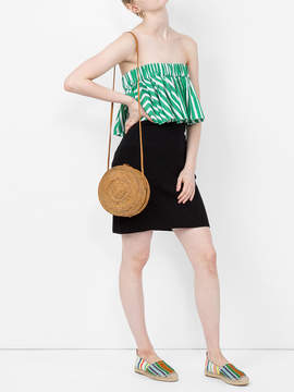 Courreges Ribbed knit skirt