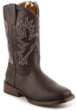 Nanette Lepore Girls Embroidered Toddler & Youth Cowboy Boot