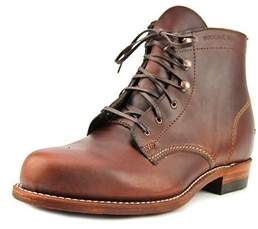 Wolverine 1000 Mile Women Round Toe Leather Brown Boot.