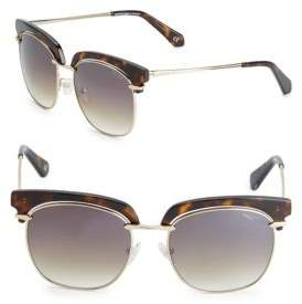 Balmain 54MM Clubmaster Sunglasses