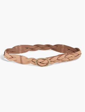 Lucky Brand BRAIDED LACING BELT