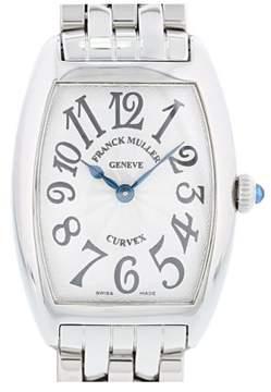 Franck Muller Cintree Curvex 1752QZ Stainless Steel Quartz 25mm Womens Watch