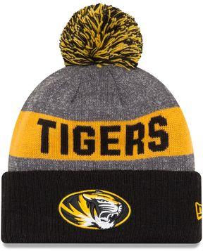 New Era Adult Missouri Tigers Sport Knit Beanie