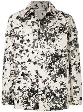 Givenchy floral shirt jacket