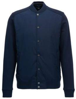 BOSS Hugo Varsity Jacket Skiles XL Dark Blue