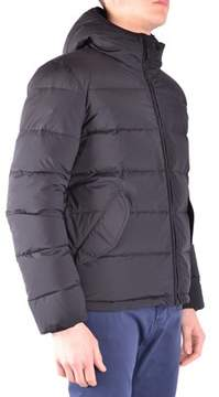 Aspesi Men's Black Polyamide Down Jacket.