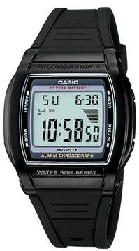 Casio Women's Digital Sport Watch - Black (LW201-1AV)