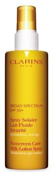 Clarins Sunscreen Care Milk-Lotion Spray SPF 50+ /5 oz.