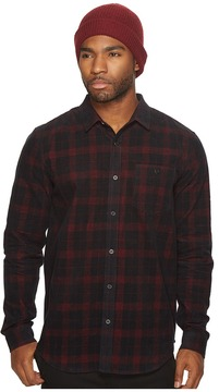 Globe Corded Long Sleeve Top Men's Long Sleeve Button Up