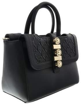 Versace EE1VRBBH1 Black Satchel