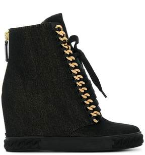 Casadei chain embellished sneakers