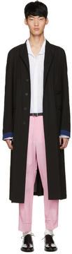 Haider Ackermann Black Long Coat