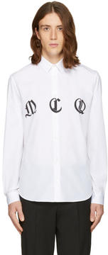 McQ White Sheehan Shirt