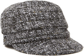 Nine West Tweed Newsboy Cap
