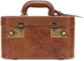 Patricia Nash Paradiso Leather Map Train Case
