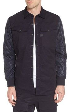 G Star Men's 3301 Hc Quilted Shirt Jacket