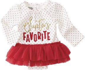 Mud Pie Santas Favorite Tutu Crawler Girl's Jumpsuit & Rompers One Piece