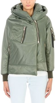 Bacon Big Bomber 62 Green Puffer Coat