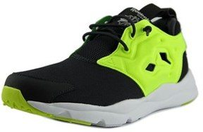 Reebok Furylite Asymm Youth Round Toe Synthetic Black Running Shoe.