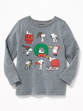 Old Navy Snoopy© Holiday-Graphic Tee for Toddler Boys