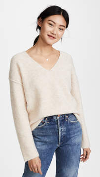 AG Jeans Skye V Neck Sweater