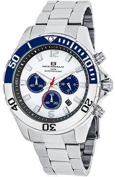 Oceanaut Sevilla OC2521 Men's Round Silver Stainless Steel Watch