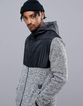 Billabong Transition Fleece Jacket in Gray