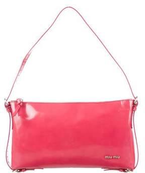 Miu Miu Glazed Leather Bag