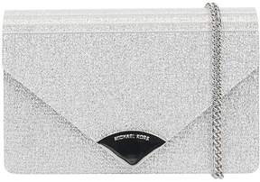 Michael Kors Barbara Md Envelope Clutch Bag - SILVER - STYLE